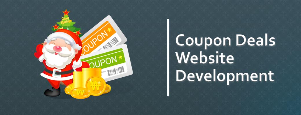 coupon website development