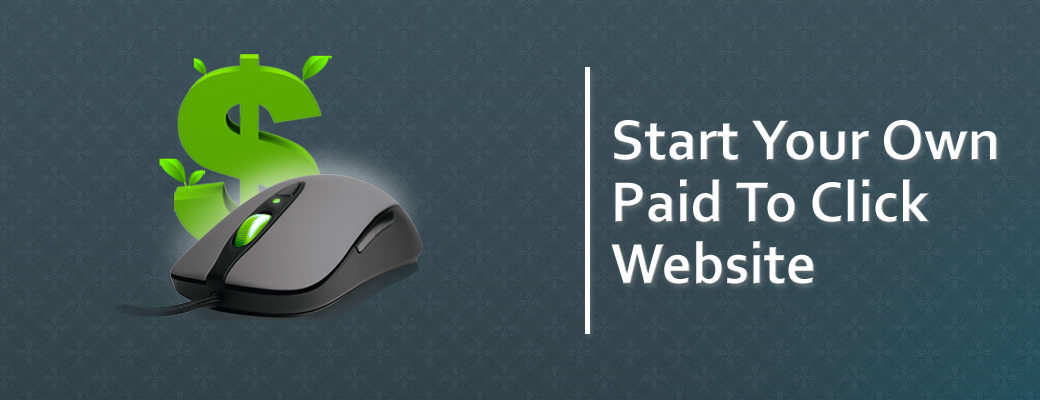 start paid to click website | ptc website for sale