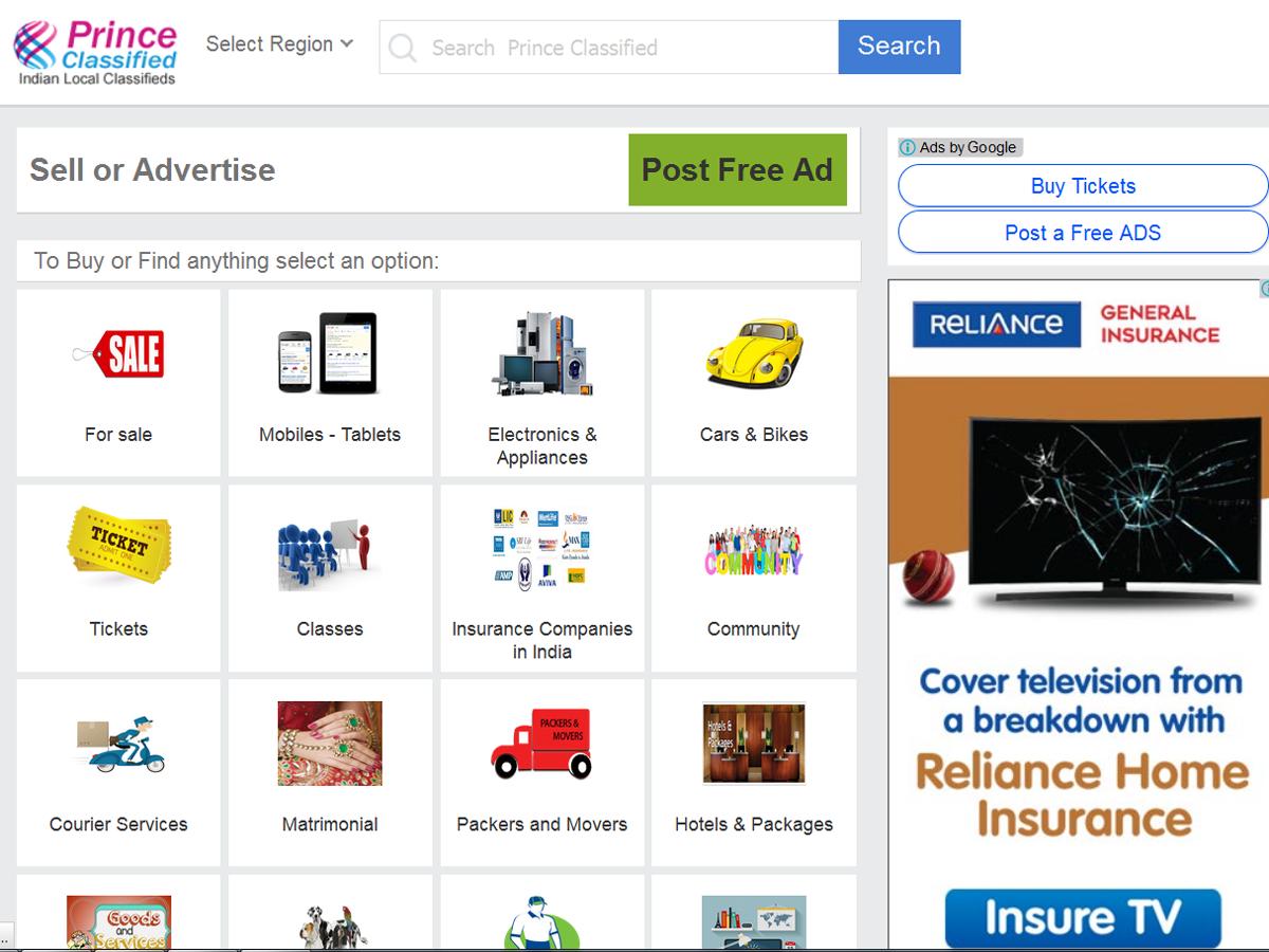 classifieds website buy online
