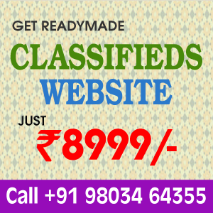 Buy Readymade Classifieds Website Online